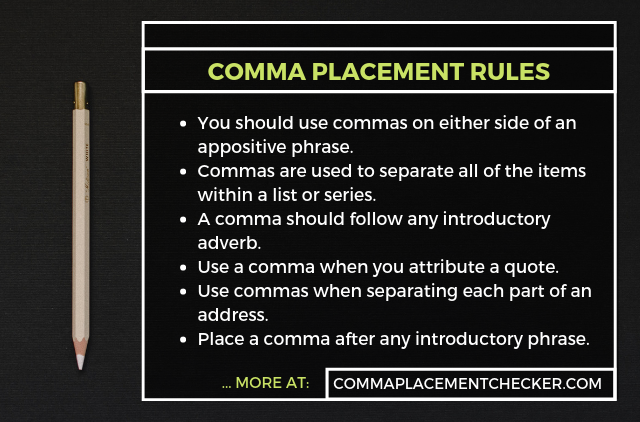 comma usage checker online free