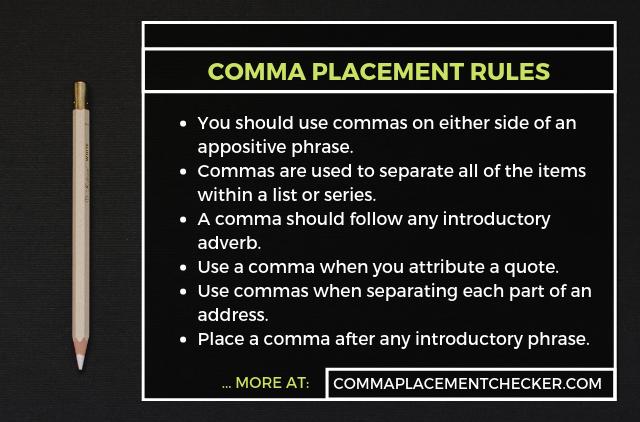 comma usage checker online free